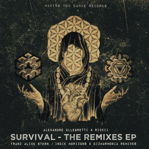 Alexandre Allegretti, Riccii – Survival Remixes EP [MYDRMX002]